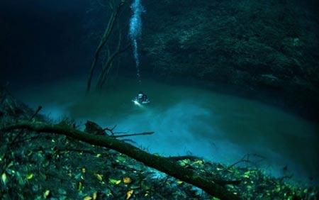مطالب داغ: رودخانه اي در زير آب
