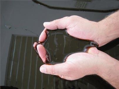 مطالب داغ: آب تني در وان پر از نفت خام