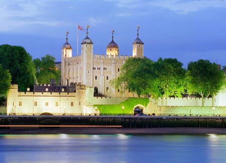 برج تاریخی در لندن