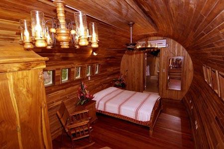 هتل کاستا ورده,هتل کاستا ورده در کاستاريکا,هتل معلق بر روي درخت