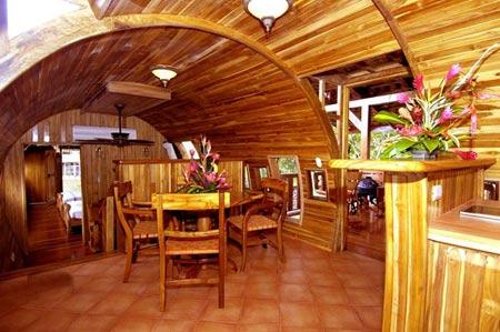 هتل کاستا ورده,هتل کاستا ورده در کاستاریکا,هتل معلق بر روی درخت