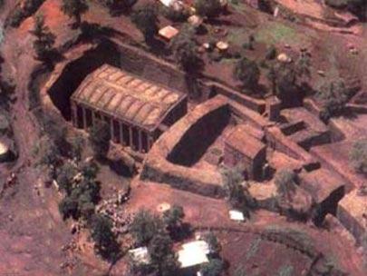 کلیسای سنت جورج,کلیسای سنت جورج در اتیوپی,کلیسای روها یا واروار