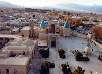 بقعهٔ امامزاده محمد (ع),بقعهٔ امامزاده محمد (ع) در شهر بسطام
