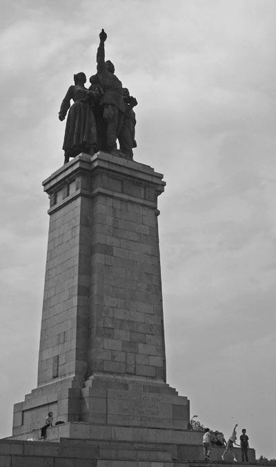 بنای تاریخی ارتش سرخ,بنای تاریخی ارتش سرخ در بلغارستان