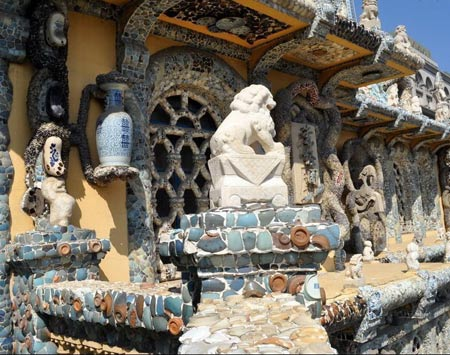 کاخ سی فانگزی,تصاویر کاخ سی فانگزی,کاخ سفالی