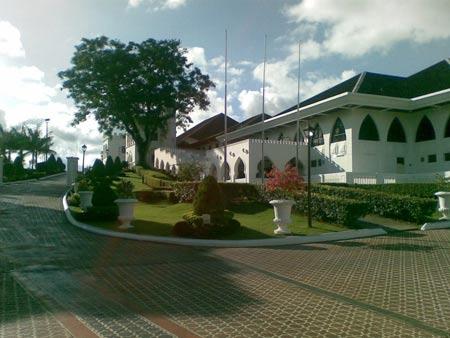 قصر آستانا در مالزی + تصاویر