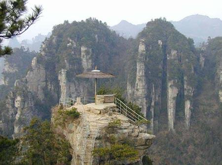 کوهستان تیانزی در چین,تصاویر کوهستان تیانزی,پسر آسمان