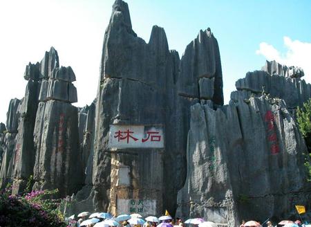 جنگل سنگ,تصاویر جنگل سنگ در چین,عکس های جنگل سنگی