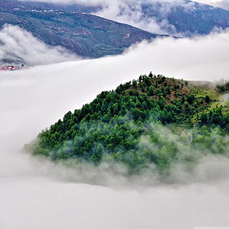 روستای فیلبند,عجایب طبیعی,فیلبند مرتفع ترین روستای ییلاقی