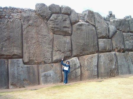 امپراتوری اینکاها,دیوار های Sacsayhuaman,شهر کوزکو