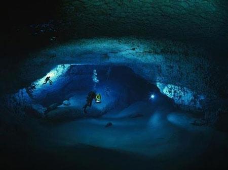 غار,غارهای یخی,زیباترین غارهای جهان