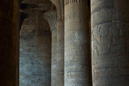 معبد ادفو,معبد ادفو در مصر,عکس های معبد ادفو