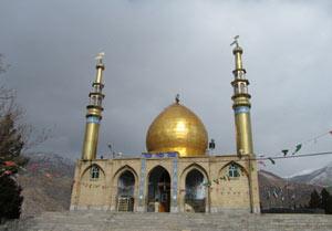 امامزاده محمد بن حَنفیه,امامزاده قلقلی یا غلتان,آرامگاه امامزاده محمد بن حَنفیه