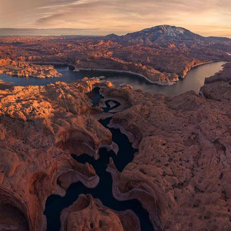 گردشگری: دره اِس شکل دیدنی در ایالات متحده