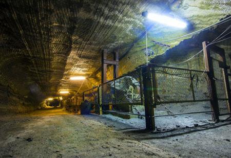 معدن نمک متروکه یکاترینبورگ,معدن نمک روسیه,مکانهای عجیب غریب