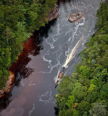 گردشگری: آبشار آنجل فرشته زیبای مرگبار