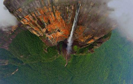 آبشار آنجل,تصاویر آبشار آنجل,عکسهای آبشار آنجل