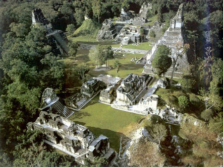 جنگل اسرارآمیز تیکال در گواتمالا + تصاویر