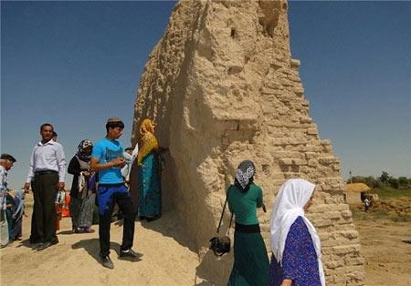 خانه امام رضا (ع) در ترکمنستان (+عکس)