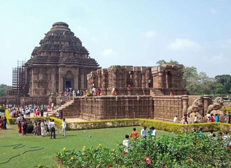 معبد خورشيد در هند,معبد خورشيد در اوريسا,دیدنیهای هند