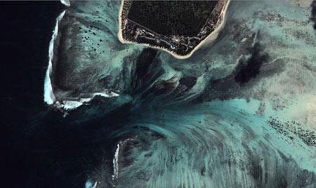 جزیره موریس,آبشار,عجایب طبیعی