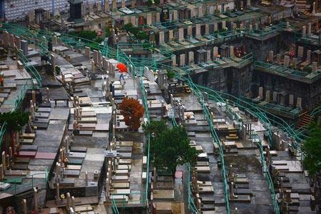 قبرستان,دیدنی های هنگ کنگ,عجایب گردشگری