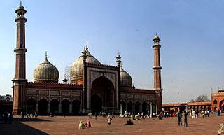 مسجد جامع دهلی,مسجد جهاننما دهلی,زیباترین مساجد جهان