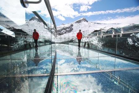 پیاده روی,Skywalk,یخچال طبیعی کانادا