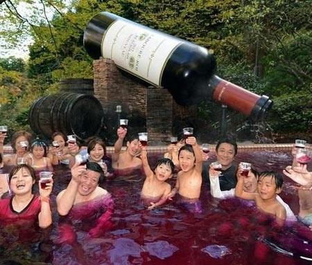 استخر,استخر نوشیدنی در ژاپن,دیدنیهای ژاپن