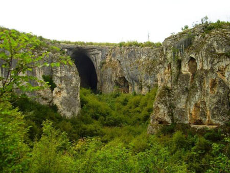 غار,غار چشم خدا,عجایب طبیعی