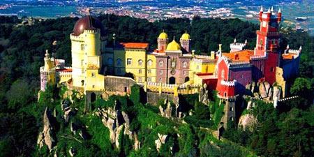 کاخ ملی پنا در پرتغال
