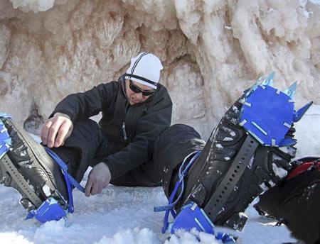 غارهای یخی,دریاچه سوپریر,غارهای یخی در دریاچه سوپریر