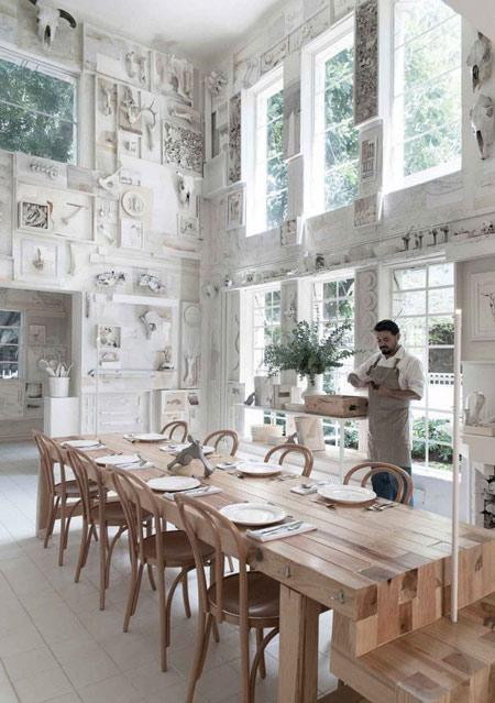 رستوران,رستوران ساخته شده از استخوان,عجایب گردشگری