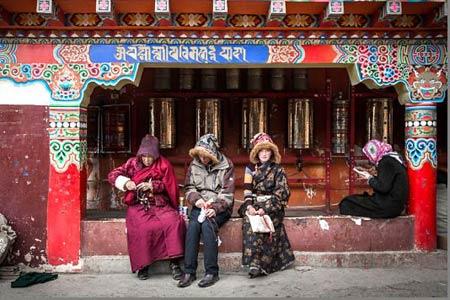 مدرسه بودایی,مکانهای تاریخی چین, بزرگترین مدرسه بودایی در چین