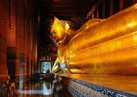 معبد,مکانهای تاریخی تایلند, معبد بودای خوابیده
