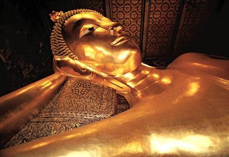 مکانهای تاریخی تایلند, معبد بودای خفته, معبد بودای خوابیده