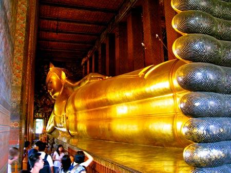 معبد, معبد بودای خفته, معبد بودای خوابیده