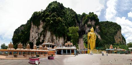 معبد, معبد باتو کیو, معبد باتو کیو در مالزی