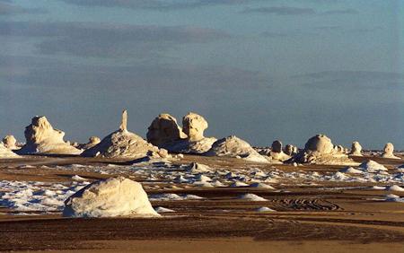 کویر سفید, کویر سفید در مصر, صحرای بیضاء
