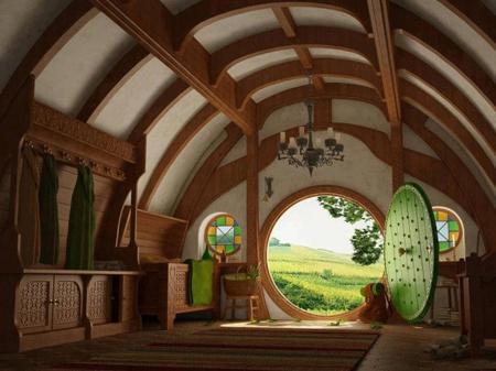 روستای Hobbiton,روستای Matamata,روستای هابیت
