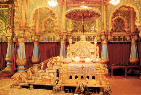 شهر میسور,کاخ های معروف هند, قصر میسور