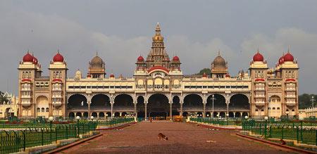 قصر زیبای میسور در هندوستان, کاخ میسور, قصر میسور