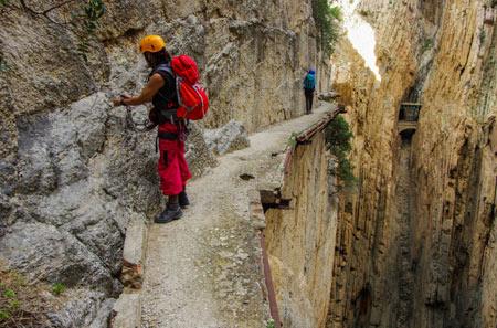 ال کامینیتو دل ری،خطرناکترین مسیر پباده روی جهان (+تصاویر)