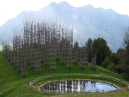 با کلیسای درختی در ایتالیا آشنا شوید(+تصاویر)