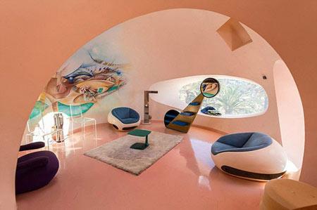 هتل حبابی در فرانسه,Bubble House, هتل های عجیب و غریب