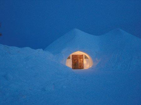 تصاویر روستای اسکیمو در فنلاند,دیدنی های فنلاند, کلبه های شیشه ای روستای اسکیمو
