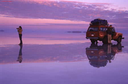 عجایب طبیعت,سالار دیونی در کشور بولیوی,سالار دیونی مسطح ترین مکان توریستی جهان
