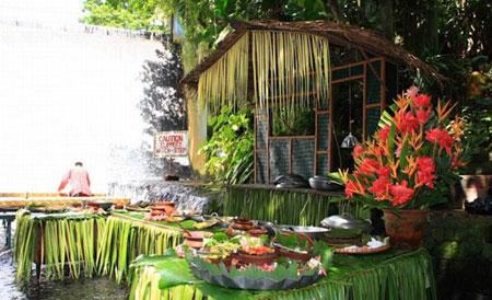 رستوران,رستوران آبشار ویلا اسکودرو,رستوران ویلا اسکودرو در فیلیپین