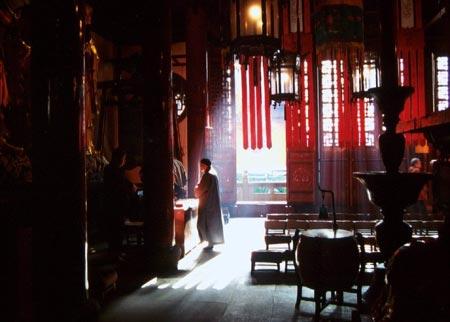 معبد بودای Jade,عکس های معبد بودای Jade,تصاویر معبد بودای Jade در شانگهای