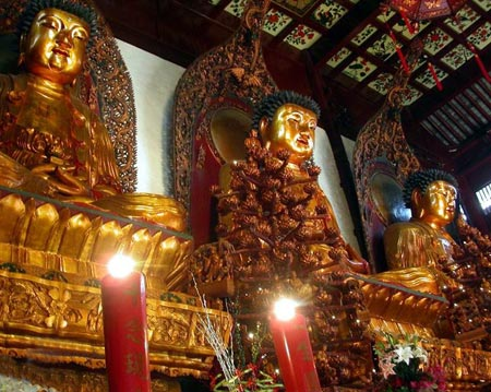 معبد بودای Jade,معبد بودای Jade در چین,تصاویر معبد بودای Jade در شانگهای